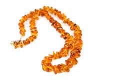 Colar ambarina Imagem de Stock
