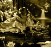 Colar da pérola Imagem de Stock Royalty Free