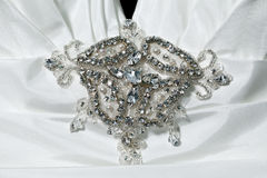 Colar de diamante Fotografia de Stock