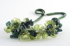 Colar de Ecojewelry dos frascos plásticos recicl Imagens de Stock Royalty Free