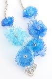 Colar de Ecojewelry dos frascos plásticos recicl Imagem de Stock Royalty Free