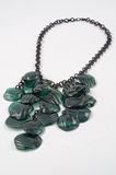 Colar de Ecojewelry dos frascos plásticos recicl Fotos de Stock Royalty Free