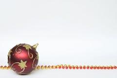 Colar decorada da esfera Foto de Stock Royalty Free