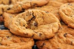 Colata calda dei biscotti nella vostra bocca Fotografia Stock Libera da Diritti