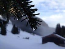 Colata della neve Fotografia Stock Libera da Diritti