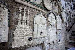 Colate delle chiese ortodosse in Russia Fotografie Stock