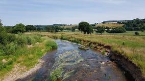 Colaton罗利 河中水獭德文郡 免版税库存图片
