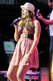 Colbie Caillat performing live. Stock Images