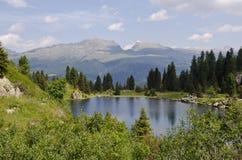 Colbricon Lake, Trentino - Italy. Landscape of Colbricon Lake, Trentino - Dolomites, Italy stock image