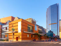 Colburn School In Downtown Los Angeles. The Colburn School is a performing arts institution located in the heart of downtown Los Angeles, neighboring Walt Disney Royalty Free Stock Photography