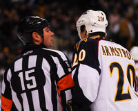 Colby Armstrong, Atlanta Thrashers. Royalty Free Stock Photography