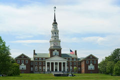 Colby College, Maine, Etats-Unis photos stock