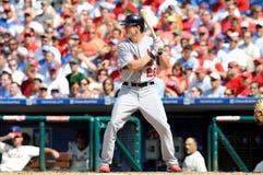Colby Rasmus - St. Louis Cardinals batting Stock Image