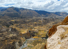 colca Περού φαραγγιών στοκ φωτογραφίες