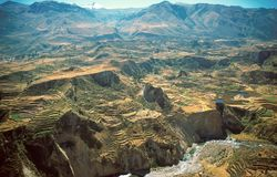 Colca Canyon Royalty Free Stock Image