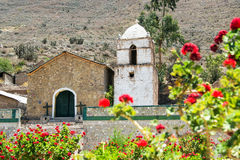 Colca Canyon Church Stock Images