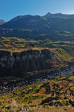 Colca Canyon of Peru Stock Photo