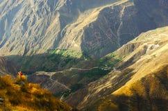 Colca Canyon Peru Stock Photography