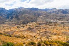 Colca Canyon, Peru Stock Image