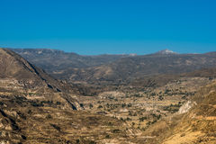Colca Canyon peruvian Andes Arequipa Peru Stock Images