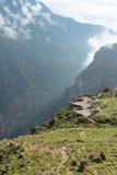 Colca kanjon Royaltyfri Fotografi