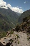 Colca kanjon Royaltyfria Bilder