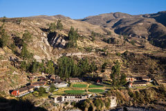 Colca Lodge Spa & Hot Springs Royalty Free Stock Images