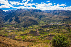 colca Peru dolina Zdjęcie Royalty Free