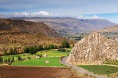 Colca Tal, Peru Stockbilder