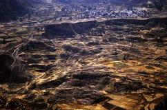Colca Valey - terraço do Inca - Condors dirige #3 fotografia de stock royalty free