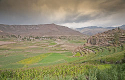 Colca Valley Royalty Free Stock Photography