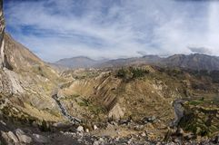 Colca valley Royalty Free Stock Image