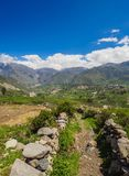 Colca Valley in Peru Stock Images