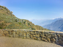 Colca Valley Viewer Stock Photo