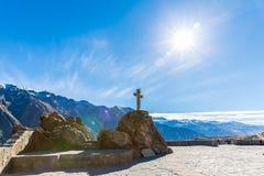 Colcacanion, Peru, Zuid-Amerika. Incas om de Landbouwterrassen met Vijver en Klip te bouwen. stock afbeeldingen