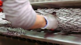 Colchón de la fabricación del trabajador metrajes