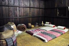 Colchón de la gente antigua de Lanna, Tailandia Imagen de archivo