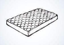 colchón Gráfico del vector Imagen de archivo
