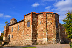 Colchester Castle. A photo taken of Colchester Castle in Essex, bathed in autumn sun Royalty Free Stock Photo