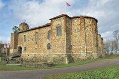Colchester Castle Στοκ φωτογραφία με δικαίωμα ελεύθερης χρήσης