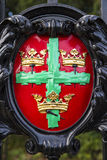 Colchester Coat of Arms Stock Photo