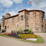 Colchester Norman Castle. Eleventh century Norman castle in Colchester Royalty Free Stock Image