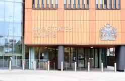 Colchester sędziów pokoju prawa sądu powierzchowność Zdjęcia Stock