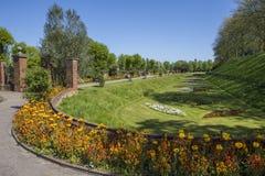 Colchester-Schloss-Park in Essex lizenzfreies stockbild