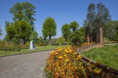 Colchester-Schloss-Park in Essex stockbilder