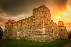 Colchester slott Arkivfoto