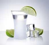 Cold alcohol stock images