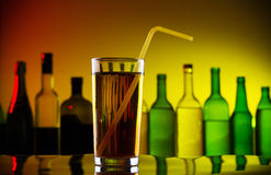 Cold alcohol cocktail Royalty Free Stock Images