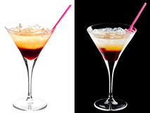 Cold alcoholic cocktail Stock Photography