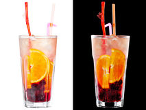 Cold alcoholic cocktail Royalty Free Stock Images
